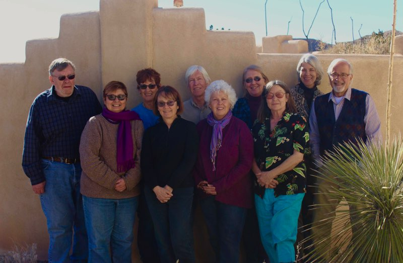 NPSNM Board Members, January 2018. Not pictured: Jen Gruger (Otero Chapter President).
